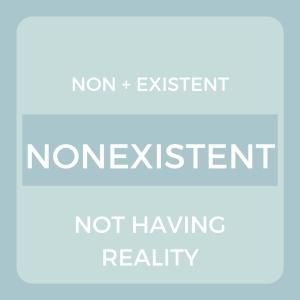 non existent definition